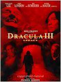 Drácula III - O Legado Final