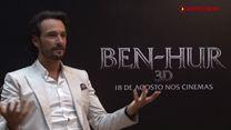 Ben-Hur Entrevista Exclusiva Rodrigo Santoro