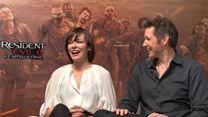 Resident Evil 6 Entrevista exclusiva com Paul W.S. Anderson e Milla Jovovich