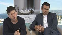 O Sacrifício do Cervo Sagrado Entrevista (1) Legendada – Colin Farrell, Barry Keoghan (AlloCiné/ Festival de Cannes 2017)