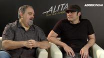 Alita - Anjo de Combate Entrevista (1) Robert Rodriguez e Jon Landau