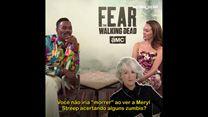 Fear the Walking Dead: Quem você escolheria para lutar no apocalipse zumbi? Com Alycia Debnam-Carey e Colman Domingo