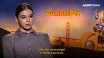 Bumblebee Entrevista com Hailee Steinfeld e Travis Knight