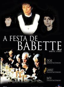 o filme a festa de babete