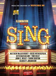 Sing – Quem Canta Seus Males Espanta – Dublado – 2016