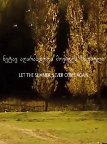 Que o Verão Nunca Mais Volte
