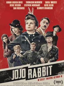 Resultado de imagem para jojo rabbit filme poster