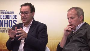 """O Vendedor de Sonhos: O autor Augusto Cury, Jayme Monjardim e elenco comentam o """"romance inspiracional"""" (Exclusivo)"""