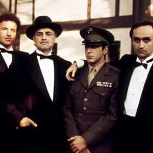 O Poderoso Chefão : Foto Al Pacino, James Caan, John Cazale, Marlon Brando