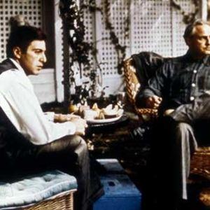 O Poderoso Chefão : Foto Al Pacino, Marlon Brando