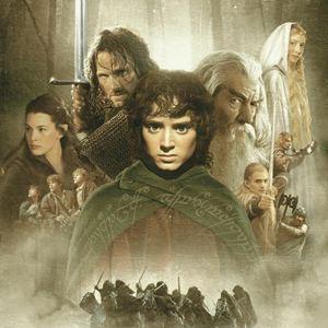O Senhor dos Anéis - A Sociedade do Anel : Poster