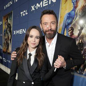 X-Men: Dias de um Futuro Esquecido : Vignette (magazine) Ellen Page, Hugh Jackman