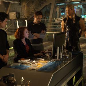 Vingadores: Era de Ultron : Foto Chris Evans, Chris Hemsworth, Mark Ruffalo, Robert Downey Jr., Scarlett Johansson