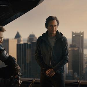 Vingadores: Era de Ultron : Foto Chris Evans, Mark Ruffalo, Robert Downey Jr.