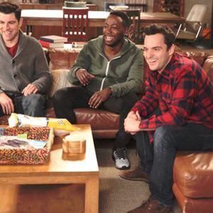 Foto Jake Johnson (XVI), Lamorne Morris, Max Greenfield
