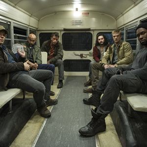 O Predador : Foto Alfie Allen, Boyd Holbrook, Keegan-Michael Key, Thomas Jane, Trevante Rhodes