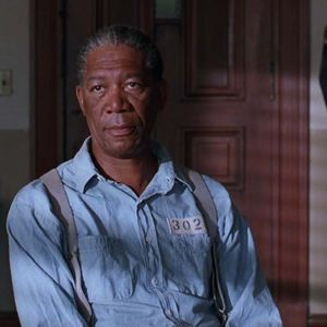 Um Sonho de Liberdade : Foto Morgan Freeman