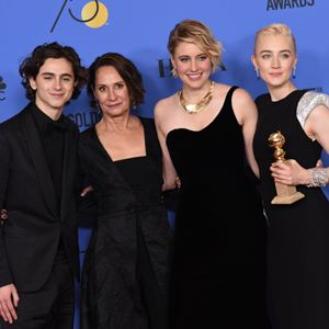 Lady Bird - A Hora de Voar : Vignette (magazine) Greta Gerwig, Laurie Metcalf, Saoirse Ronan, Timothée Chalamet