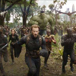 Vingadores: Guerra Infinita : Foto Anthony Mackie, Chadwick Boseman, Chris Evans, Danai Gurira, Don Cheadle