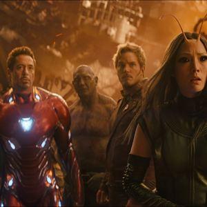 Vingadores: Guerra Infinita : Foto Chris Pratt, Dave Bautista, Pom Klementieff, Robert Downey Jr., Tom Holland