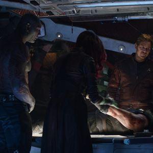 Vingadores: Guerra Infinita : Foto Chris Hemsworth, Chris Pratt, Dave Bautista