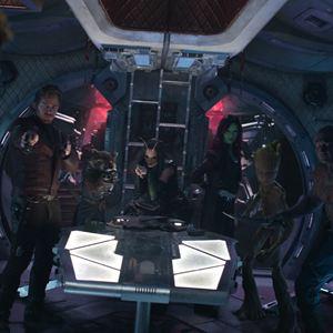 Vingadores: Guerra Infinita : Foto Chris Pratt, Dave Bautista, Pom Klementieff, Zoe Saldana