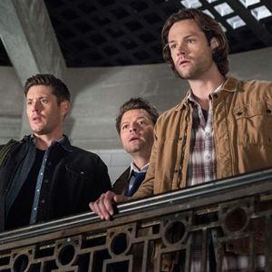 Foto Jared Padalecki, Jensen Ackles, Misha Collins