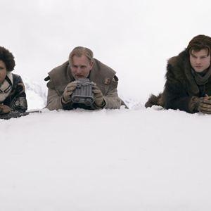 Han Solo: Uma História Star Wars : Foto Alden Ehrenreich, Thandie Newton, Woody Harrelson