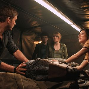 Jurassic World: Reino Ameaçado : Foto Bryce Dallas Howard, Chris Pratt, Daniella Pineda, Justice Smith