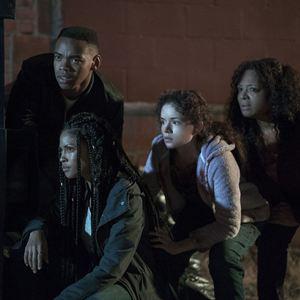 A Primeira Noite de Crime : Foto Joivan Wade, Lex Scott Davis, Luna Lauren Velez