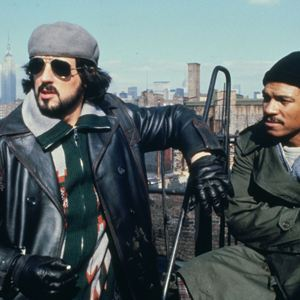 Foto Billy Dee Williams, Sylvester Stallone