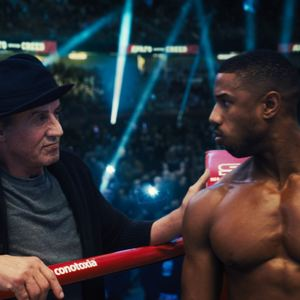 Creed II : Foto Michael B. Jordan, Sylvester Stallone