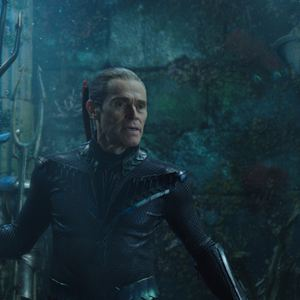 Aquaman : Foto Willem Dafoe