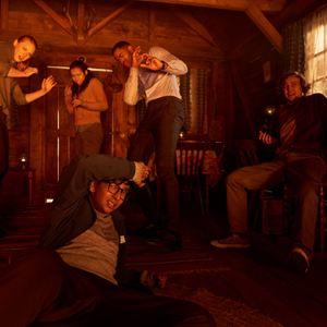 Escape Room : Foto Deborah Ann Woll, Jay Ellis, Logan Miller, Nik Dodani, Taylor Russell McKenzie