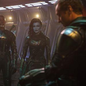 Capitã Marvel : Foto Djimon Hounsou, Gemma Chan, Jude Law