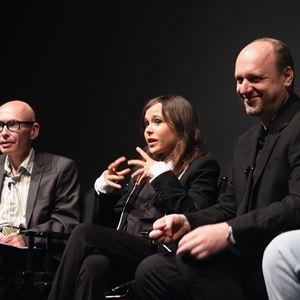 Foto David Cage, Ellen Page