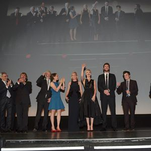Jogos Vorazes - Em Chamas : Vignette (magazine) Elizabeth Banks, Francis Lawrence, Jennifer Lawrence, Josh Hutcherson, Liam Hemsworth