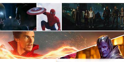 Calendário dos filmes de super-herói até 2020