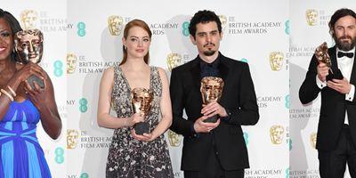 BAFTA 2017: Veja a lista completa dos vencedores