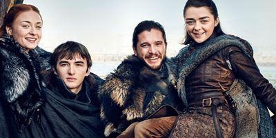 Os Stark estão reunidos em novas fotos de Game of Thrones