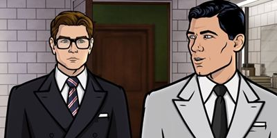 Comic-Con 2017: Vídeo animado une Kingsman e Archer