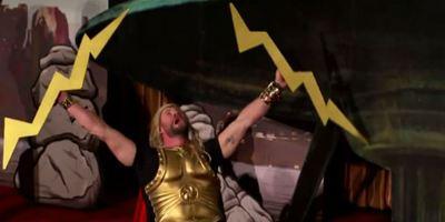 """Chris Hemsworth, Mark Ruffalo e Cate Blanchett recriam Thor: Ragnarok """"em 4D no meio do cinema"""""""