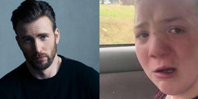Chris Evans convida adolescente vítima de bullying para a première de Vingadores: Guerra Infinita