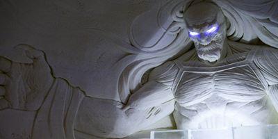 Hotel de gelo ganha decoração temática de Game of Thrones