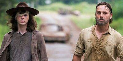 The Walking Dead: Andrew Lincoln faz serenata de despedida para Chandler Riggs