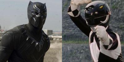 Trailer de Pantera Negra ganha versão com Power Ranger Preto