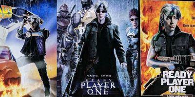 Jogador Nº1 ganha cartazes inspirados em filmes da cultura pop