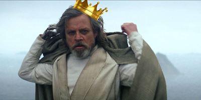 Mark Hamill tentou convencer os príncipes Harry e William que Luke Skywalker faz parte da realeza