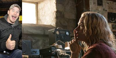 Chris Pratt se empolga após assistir Um Lugar Silencioso