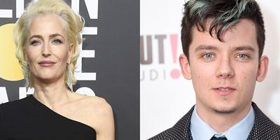 Gillian Anderson vai protagonizar nova série da Netflix ao lado de Asa Butterfield